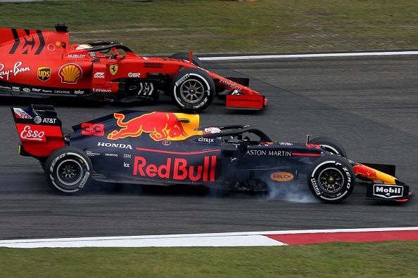 Max Verstappen is currently fourth on the standings behind Vettel