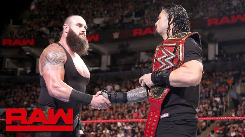 Roman Reigns and Braun Strowman have often teamed up at WWE Live Events