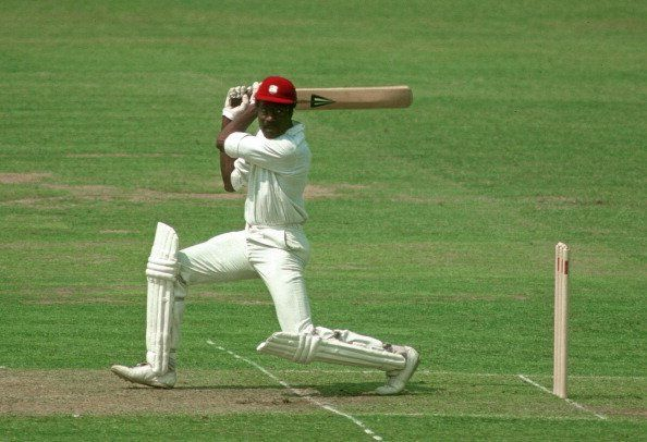 Clive Lloyd against Australia in the 1975 World Cup Final