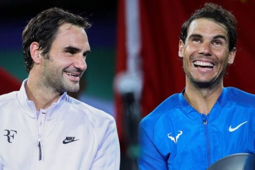 Federer and Nadal enjoy one of the greatest sporting rivalries of all time