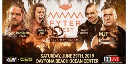 Adam Page vs. Jimmy Havoc vs. Jungle Boy vs. MJF