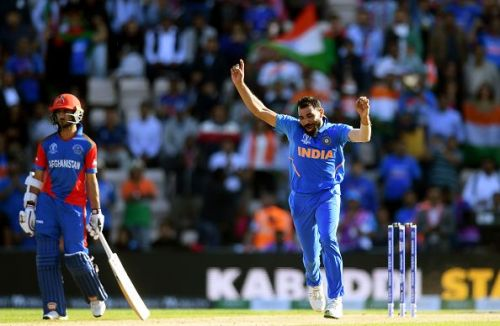 Mohammed Shami took a hat-trick which ensured a victory for India in the final over.