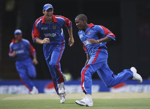 Bermuda made its only World Cup appearance in 2007