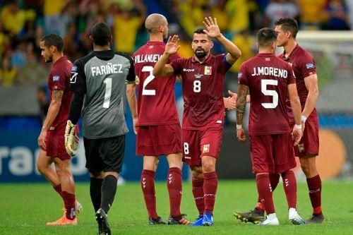 Venezuela more than held their own against Brazil