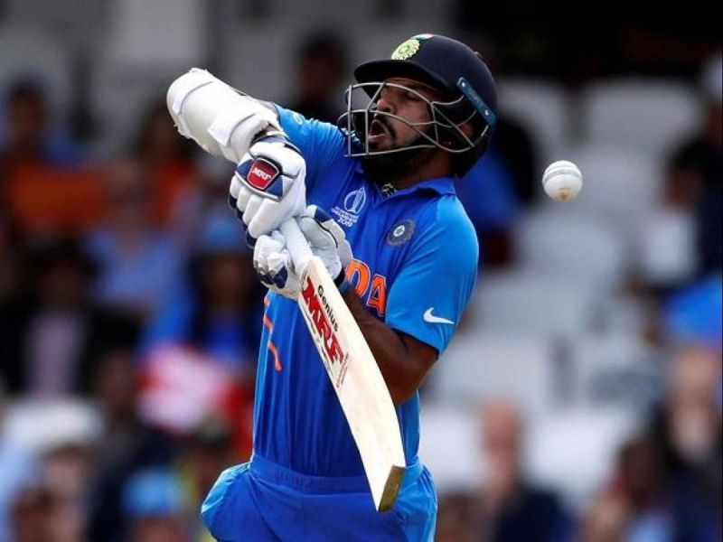 Who will replace injured Shikhar Dhawan in the playing