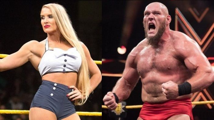 Lacey Evans and Lars Sullivan