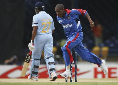 Group B, Bermuda v India - Cricket World Cup 2007
