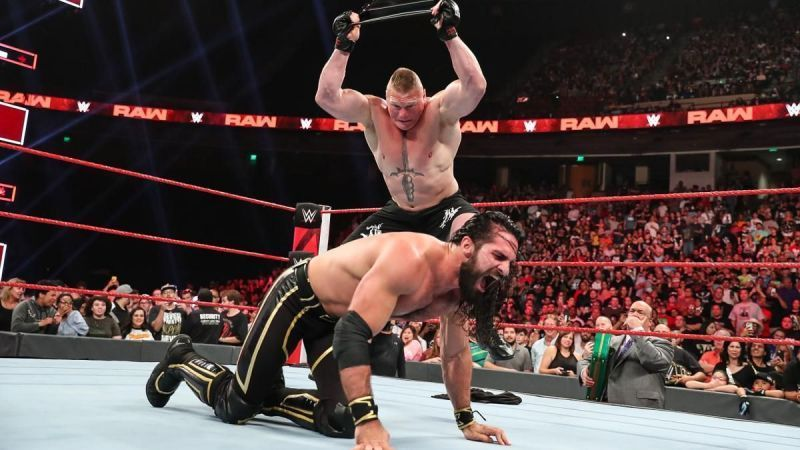 Brock Lesnar returned to WWE and is no Mr. Money in the Bank
