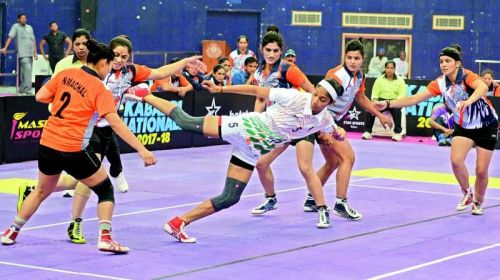 Himachal Pradesh vs. Indian Railways (65th Senior National Women's Kabaddi Championship Final)