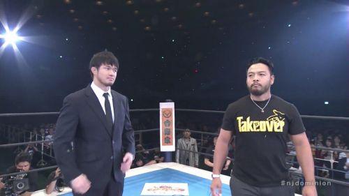 Katsuyori Shibata (left) and Kenta (right)