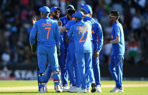 India at the ICC Cricket World Cup 2019