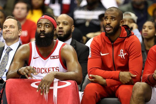 The pairing of James Harden and Chris Paul failed to yield an NBA Finals appearance for Houston