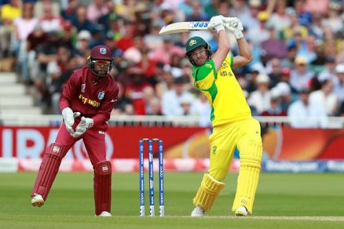 Coulter-Nile's aggressive show was an important feature from Australia's innings