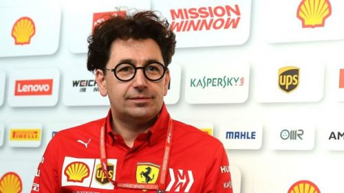 Mattia Binotto feels Ferrari's performance is hindered by the new Pirelli tyres for 2019