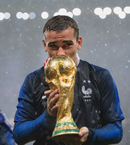 Griezmann played a crucial role in France's World Cup triumph
