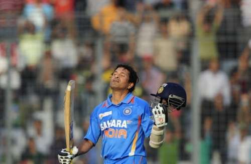 Sachin Tendulkar is the first man to score a double century in ODIs
