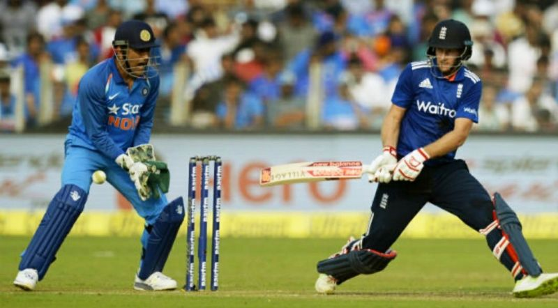 India leads England 53-41 head to head in ODIs