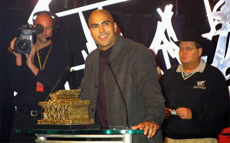 Maven held the Hardcore title in WWE after being the men