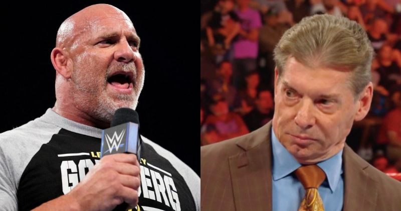 Goldberg and Vince McMahon.