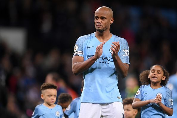 Vincent Kompany will be missed in defense