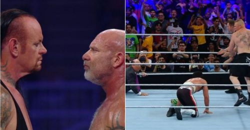 Goldberg and The Undertaker faced off at Super ShowDown