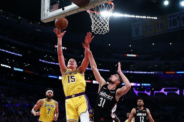 Moritz Wagner started to see more minutes on the court after the departure of Ivaca Zubac