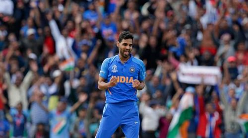Bhuvi picked up the key wickets of Smith and Stoinis in the same over to end Australia's hopes