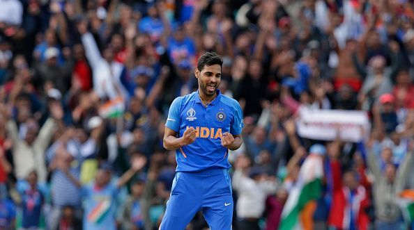 Bhuvi picked up the key wickets of Smith and Stoinis in the same over to end Australia