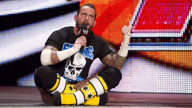 CM Punk has not competed in an official match since January 2014