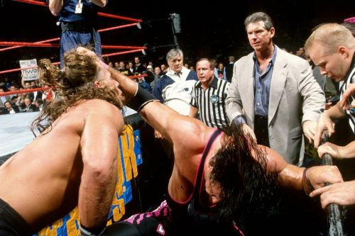 The wrestling world was never the same after the Montreal Screwjob saw Bret Hart betrayed.