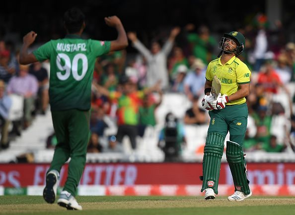 Bangladesh provided the first upset of the World Cup by beating South Africa
