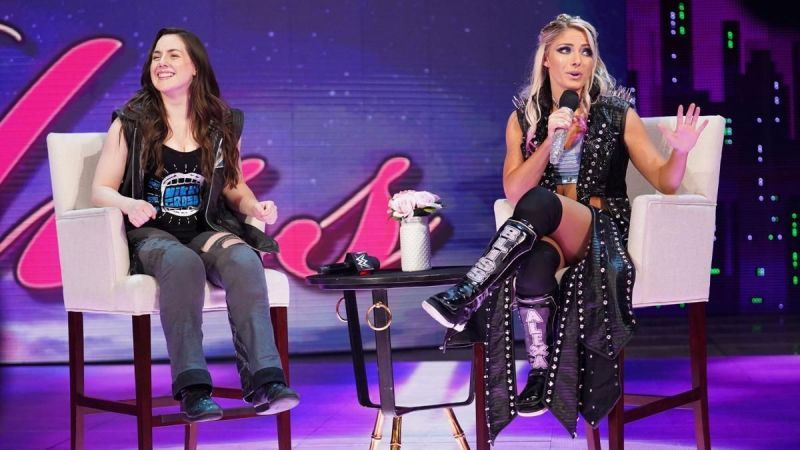 Alexa Bliss and Nikki Cross have been allies recently on Raw.