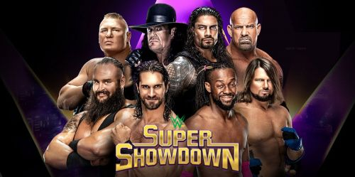 Super ShowDown is the third show as part of WWE's deal with Saudi Arabia.