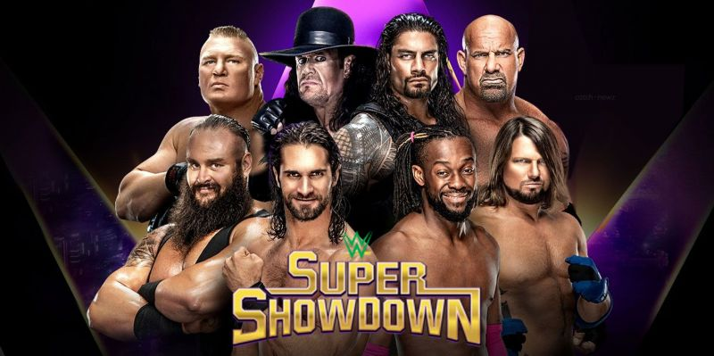 Super ShowDown is the third show as part of WWE