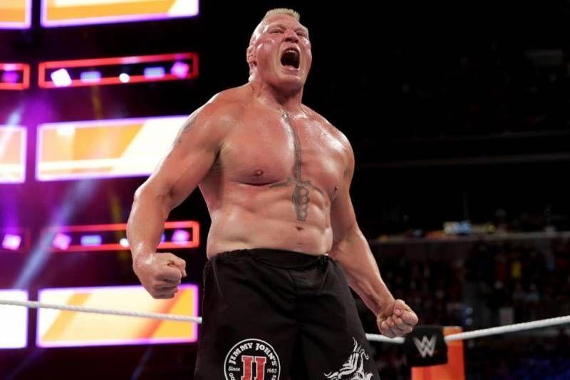 कई WWE सुपरस्टार्स ब्रॉक लैसनर से भिड़ना चाहते हैं