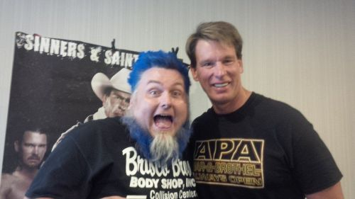 The Blue Meanie and the former WWE Champion seem to have made ammends in recent years.