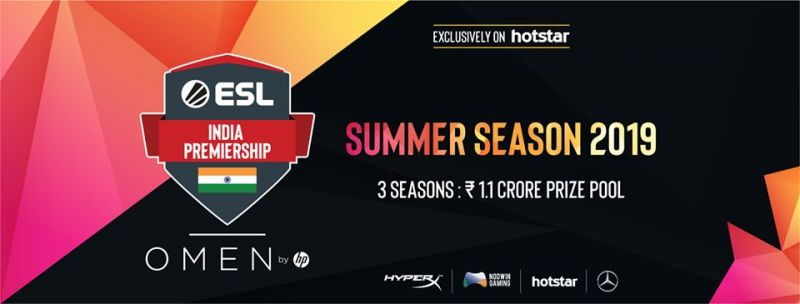 ESL India Premiership Summer LAN Finale 2019