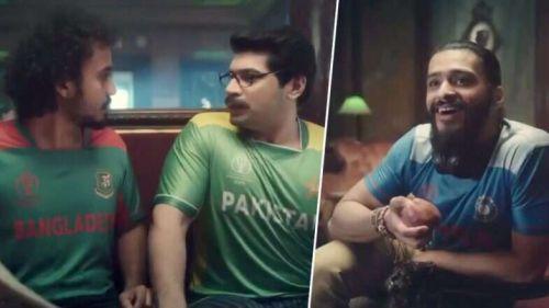 The India vs Pakistan ad