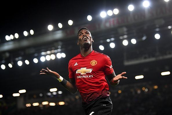 Pogba is a central figure at Manchester United