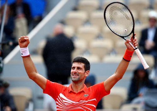 2019 French Open - Novak Djokovic