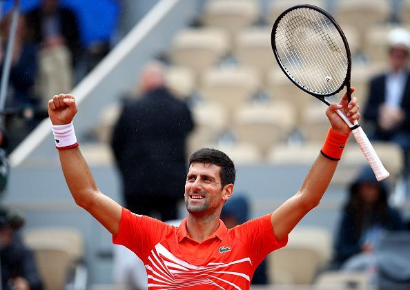2019 French Open - Novak Djokovic
