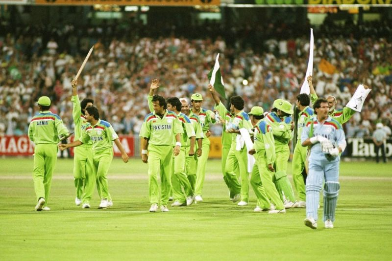 Pakistan was fortunate to earn a point from the England game