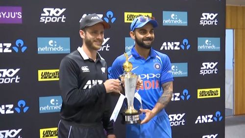India will take on New Zealand in 5 T20Is, 3 ODIs and 2 Tests