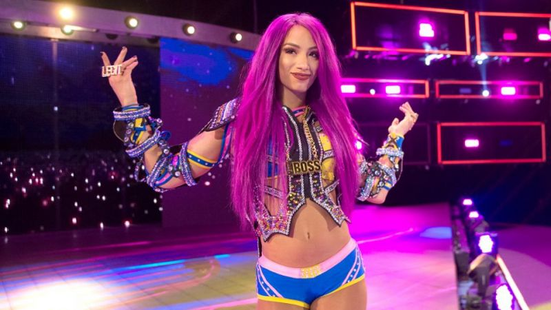 Sasha Banks is yet to appear on WWE television