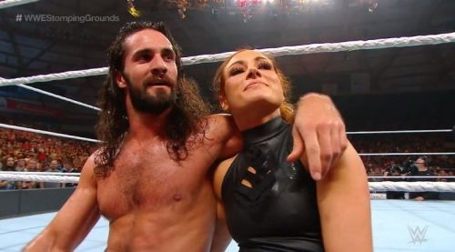 Seth and Becky have been the talk of the town recently