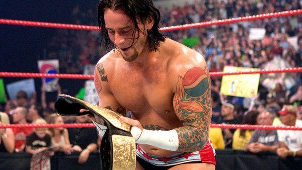 CM Punk World Heavyweight Champion