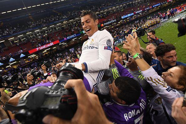 Former Real Madrid ace Cristiano Ronaldo