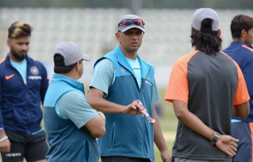 Rahul Dravid has been doing extremely well as the coach of the Indian Under-19 team