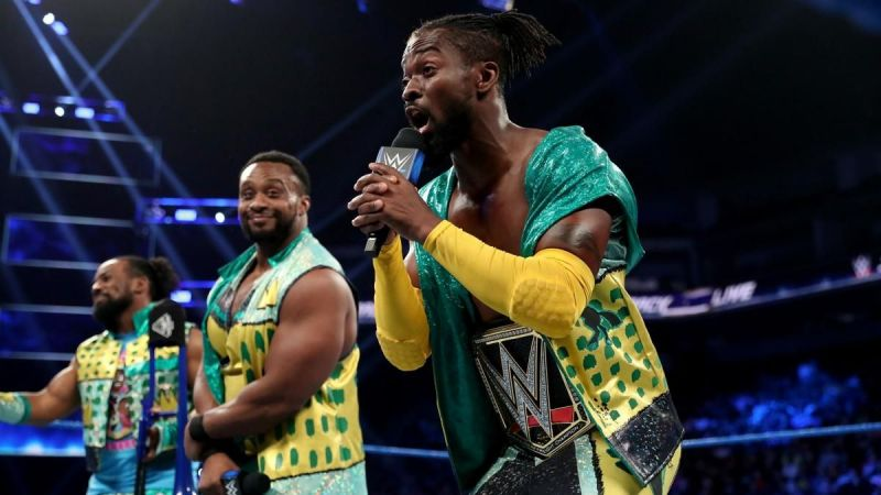 The New Day ended the night with a victory