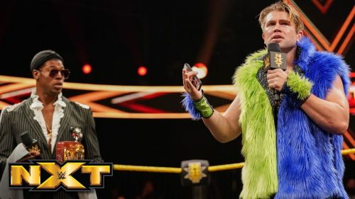 Tyler Breeze felt at home in his recent return to NXT